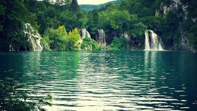 της Κροατίας sostavtsy καταρράκτες plitvice πάρκων λιμνών εθνικοί Στοκ Εικόνα