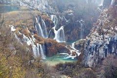 της Κροατίας sostavtsy καταρράκτες plitvice πάρκων λιμνών εθνικοί Στοκ φωτογραφία με δικαίωμα ελεύθερης χρήσης