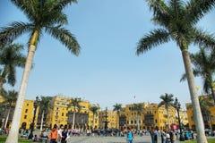 Της Λίμα κύριο τετράγωνο γνωστό όπως Στοκ φωτογραφία με δικαίωμα ελεύθερης χρήσης