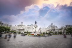της Λίμα Περού στοκ φωτογραφία με δικαίωμα ελεύθερης χρήσης