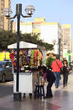 της Λίμα πλανόδιος πωλητή&sigm Στοκ εικόνα με δικαίωμα ελεύθερης χρήσης