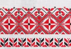 Της Λευκορωσίας εθνική διακόσμηση. στοκ εικόνες