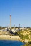 Της Μάλτα σταθμός παραγωγής ηλεκτρικού ρεύματος Στοκ εικόνα με δικαίωμα ελεύθερης χρήσης