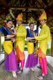 Της Μαλαισίας πρότυπος παραδοσιακός ολόκληρος Στοκ Φωτογραφίες