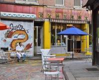 Της Νέας Υόρκης Chinatown ανθρώπων κινεζικός πολιτισμός ζωής πόλεων τρόπου ζωής αυθεντικός στοκ φωτογραφία με δικαίωμα ελεύθερης χρήσης