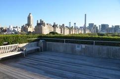Της περιφέρειας του κέντρου άποψη του Μανχάταν πόλεων της Νέας Υόρκης Στοκ φωτογραφία με δικαίωμα ελεύθερης χρήσης