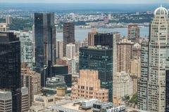 Της περιφέρειας του κέντρου κτήρια του Μανχάτταν πόλεων της Νέας Υόρκης Στοκ φωτογραφίες με δικαίωμα ελεύθερης χρήσης