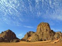 Της Σαχάρας βράχοι στοκ φωτογραφίες