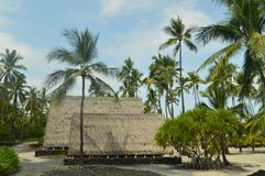 Της Χαβάης εγγενές του χωριού σπίτι στοκ φωτογραφίες με δικαίωμα ελεύθερης χρήσης