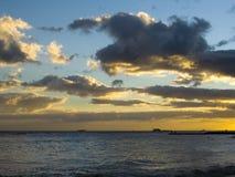 της Χαβάης ηλιοβασίλεμα Στοκ Εικόνες