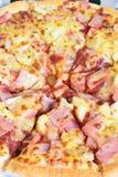 της Χαβάης πίτσα Στοκ Εικόνα