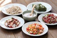 Της Χαβάης παραδοσιακά τρόφιμα Στοκ Εικόνες