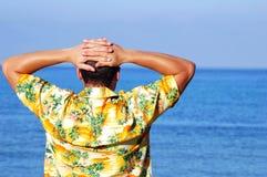 της Χαβάης πουκάμισο Στοκ Εικόνες