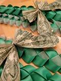 Της Χαβάης χρήματα Lei στοκ εικόνα με δικαίωμα ελεύθερης χρήσης