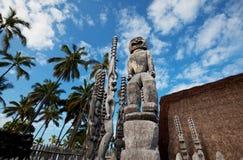 της Χαβάης tikki Στοκ Φωτογραφίες