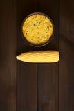 Της Χιλής πίτα καλαμποκιού αποκαλούμενη κρητιδογραφία de Choclo Στοκ φωτογραφία με δικαίωμα ελεύθερης χρήσης