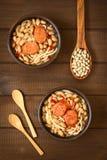 Της Χιλής πιάτο αποκαλούμενο Porotos con Riendas Στοκ εικόνα με δικαίωμα ελεύθερης χρήσης