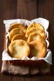 Της Χιλής τηγανισμένες Sopaipilla ζύμες στοκ εικόνες με δικαίωμα ελεύθερης χρήσης