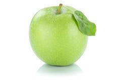 Της Apple φρούτων πράσινος που απομονώνεται φρέσκος στο λευκό Στοκ Εικόνες