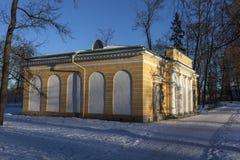 24 της Catherine χλμ κεντρικών οικογενειών προηγούμενος αυτοκρατορικός αριστοκρατίας πάρκων της Πετρούπολης νότος ST selo κατοικι στοκ εικόνες