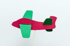 Της Eva άσπρο υπόβαθρο αεροπλάνων αφρού κόκκινο Στοκ Εικόνες