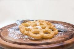 Της Kia shebakia μπισκότα λουλούδι-που διαμορφώνονται μαροκινά Στοκ Φωτογραφία