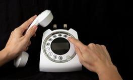 Τηλέφωνο για την κλήση Στοκ φωτογραφία με δικαίωμα ελεύθερης χρήσης