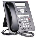 Τηλέφωνο γραφείων IP που απομονώνεται Στοκ Εικόνες