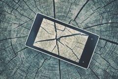 τηλέφωνο κυττάρων κουμπιών Στοκ φωτογραφία με δικαίωμα ελεύθερης χρήσης