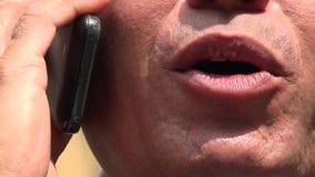 Τηλέφωνο κυττάρων, κυψελοειδής, κινητό απόθεμα βίντεο