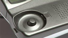 Τηλέφωνο μήκους σε πόδηα αποθεμάτων απόθεμα βίντεο