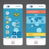 Τηλέφωνο στοιχείων σχεδίου Στοκ εικόνα με δικαίωμα ελεύθερης χρήσης