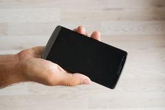 τηλέφωνο χεριών Στοκ φωτογραφίες με δικαίωμα ελεύθερης χρήσης