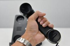 Τηλέφωνο IP - τηλέφωνο γραφείων Στοκ εικόνα με δικαίωμα ελεύθερης χρήσης