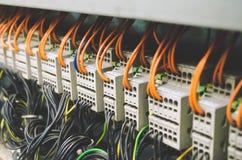 Τηλεγράφηση PLC Στοκ Φωτογραφία