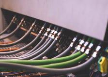 Τηλεγράφηση PLC Στοκ φωτογραφία με δικαίωμα ελεύθερης χρήσης