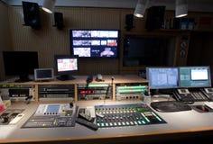 στούντιο TV Στοκ εικόνες με δικαίωμα ελεύθερης χρήσης