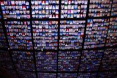 Τηλεοπτική εγκατάσταση Ataman's KutluÄŸ, Arsenale 56η Βενετία bie Στοκ φωτογραφία με δικαίωμα ελεύθερης χρήσης