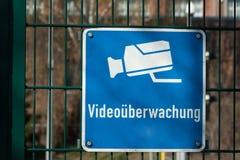 Τηλεοπτική επιτήρηση Στοκ φωτογραφίες με δικαίωμα ελεύθερης χρήσης