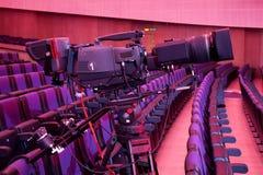 Τηλεοπτική κάμερα Στοκ Φωτογραφίες
