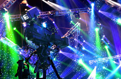 Τηλεοπτική κάμερα Στοκ Εικόνα