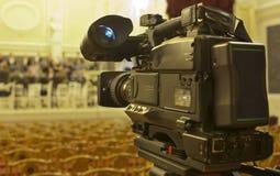 Τηλεοπτική κάμερα Στοκ Εικόνες