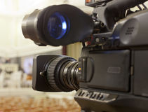 Τηλεοπτική κάμερα Στοκ εικόνα με δικαίωμα ελεύθερης χρήσης