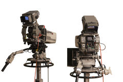 Τηλεοπτική κάμερα Στοκ εικόνες με δικαίωμα ελεύθερης χρήσης
