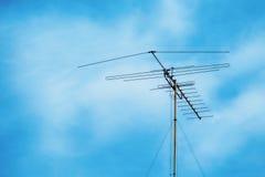 Τηλεοπτική κεραία Στοκ φωτογραφία με δικαίωμα ελεύθερης χρήσης