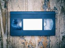 Τηλεοπτική κινηματογράφηση σε πρώτο πλάνο κασετών Στοκ Εικόνες