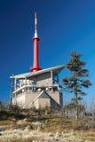 Τηλεοπτική συσκευή αποστολής σημάτων σε Lysa Hora Στοκ φωτογραφία με δικαίωμα ελεύθερης χρήσης