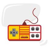 Τηλεοπτική τέχνη θέματος κονσολών παιχνιδιών Στοκ φωτογραφία με δικαίωμα ελεύθερης χρήσης