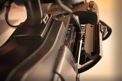 Τηλεοπτική τεχνολογία camcorder κασετών ταινιών Στοκ εικόνες με δικαίωμα ελεύθερης χρήσης