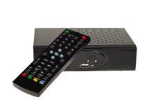 τηλεοπτικός δέκτης γ dvb στοκ εικόνες με δικαίωμα ελεύθερης χρήσης